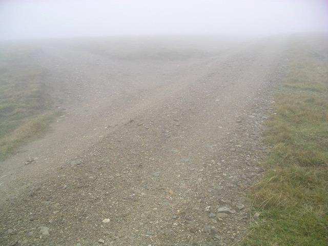 Landrover track Junction