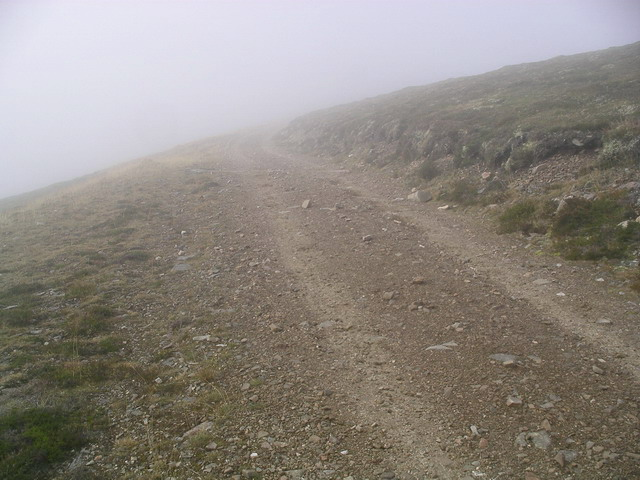 Landrover track from Mullach Clach a' Bhlair