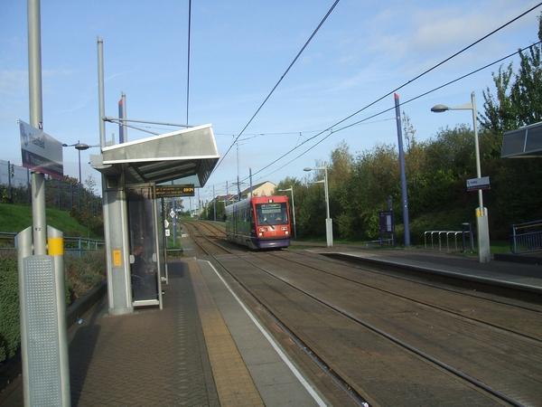 Priestfield Metro Station