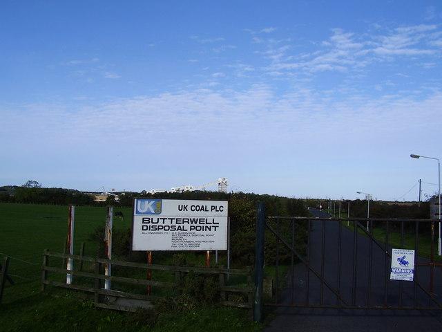 Butterwell Disposal Point