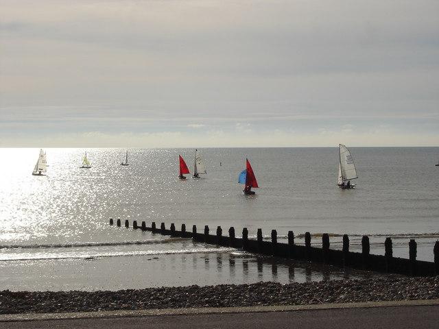 Autumn sailing at Felpham (1)