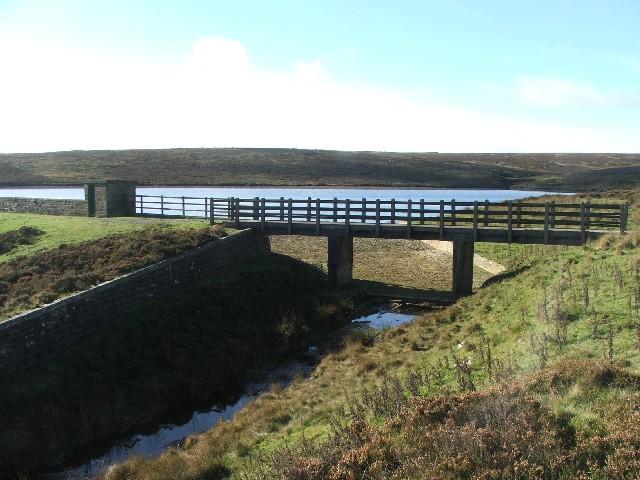Keighley Moor Reservoir.