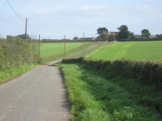 Toward Dairy House Farm