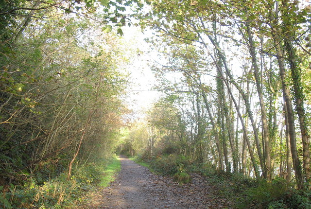 The Causeway path along the old L&NWR trackbed