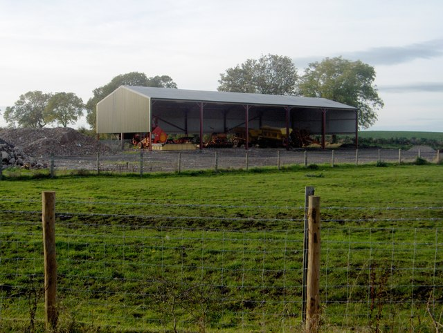 Barn to South West of Redmarshall