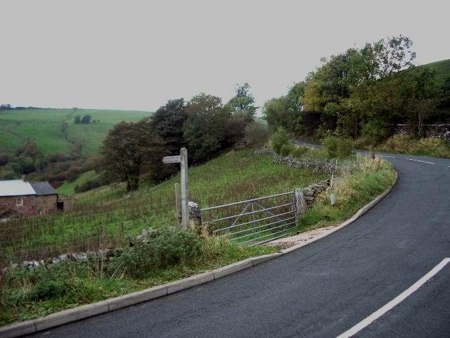 Public bridleway to Wellhead Sike