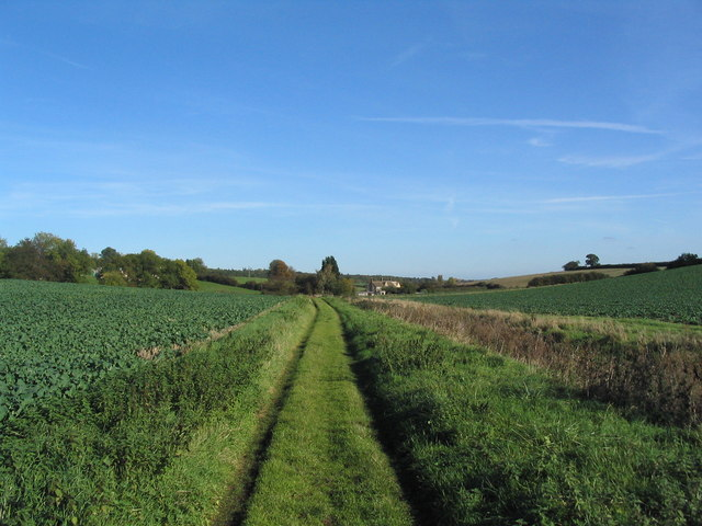 Bridleway to Crossway Hand Cottages