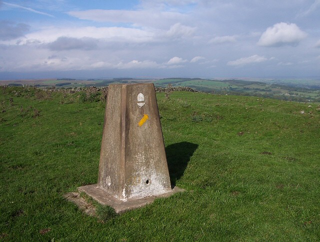 Trig Point on Hadrian's Wall Path