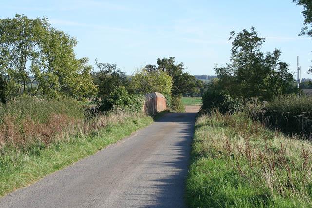 Gonnerby Grange Bridge, Peascliffe Lane