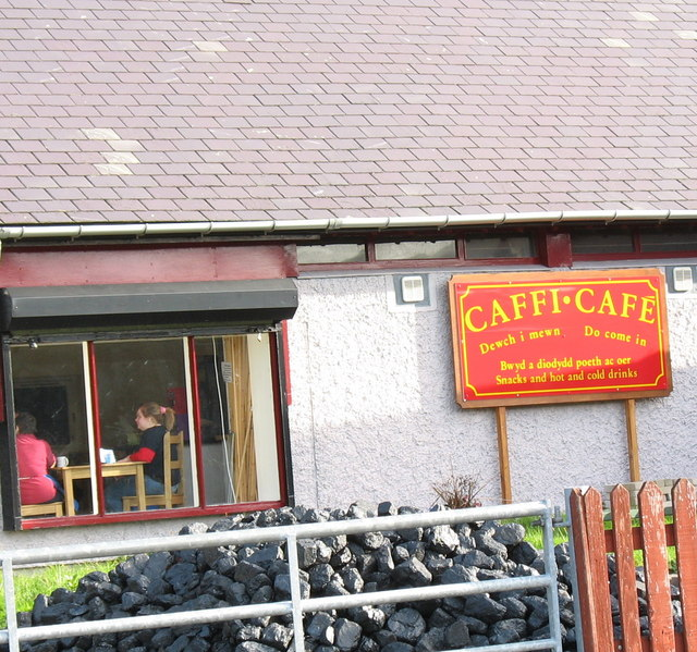 Coal and Coffee - The Padarn Railway Station Snack Bar