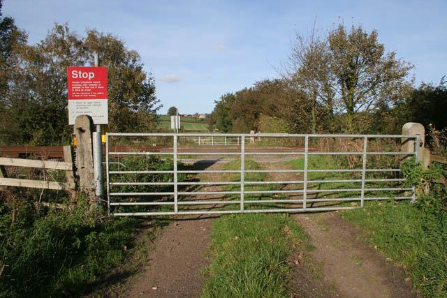 Public footpath near Sudbrook