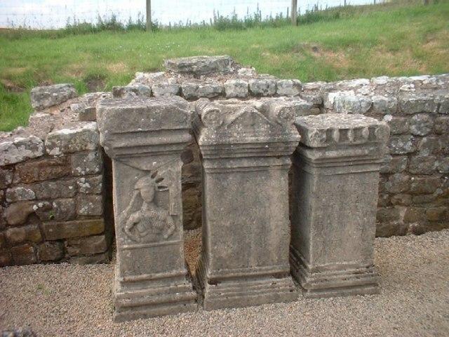 Altar at Mithraeum