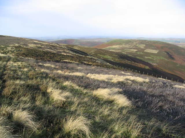 Walking on Thorny Hill in the Cheviots