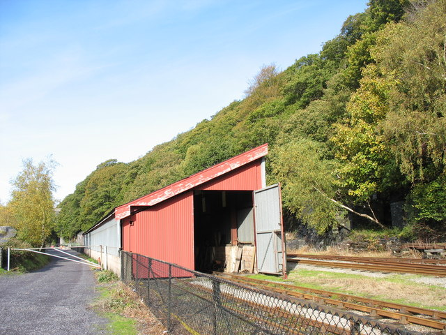 Wooden Rolling Stock Shed at Padarn Railway Yard