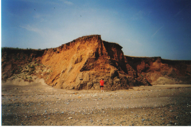 Easington cliffs