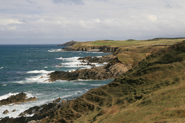Lleyn cliff scenery at its best