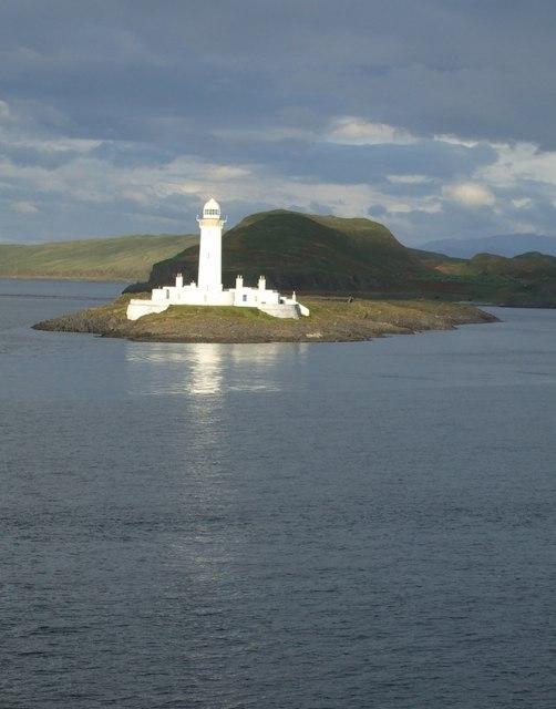 Eilean Musdile, Lismore - The Lighthouse