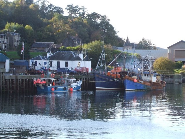 Boats in Oban Harbour