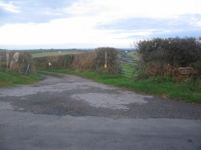 Lane to Drascombe Barton