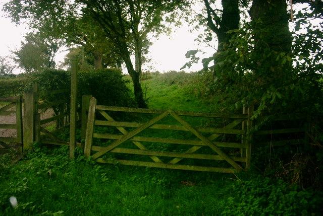 Countryside Public Footpath Gate