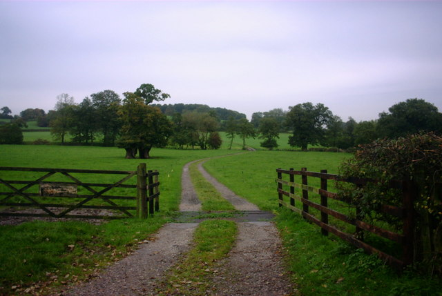 Farm Track off Milwich Lane