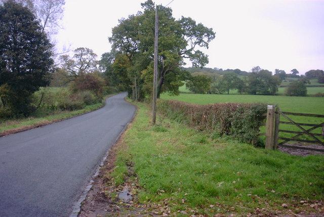 Milwich Lane, Milwich