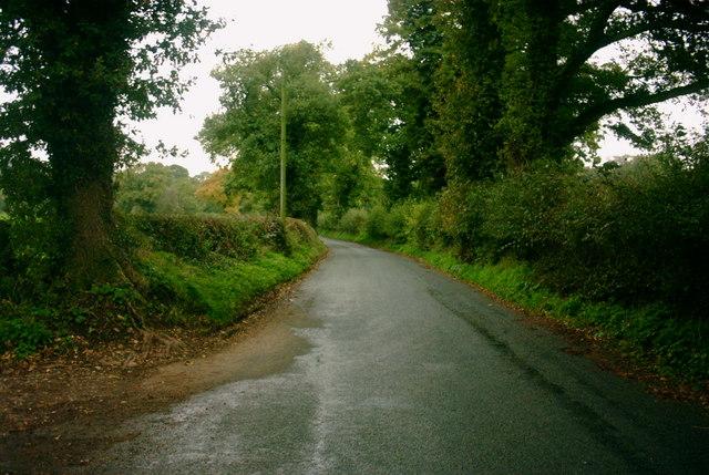 Milwich Lane to Sandon