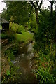 SJ9732 : A Village Stream by Stephen Pearce