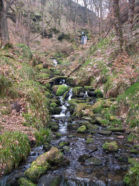 Clough near Gibson Mill, Hardcastle Crags