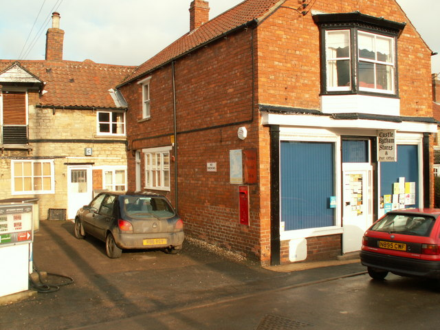 Castle Bytham post office