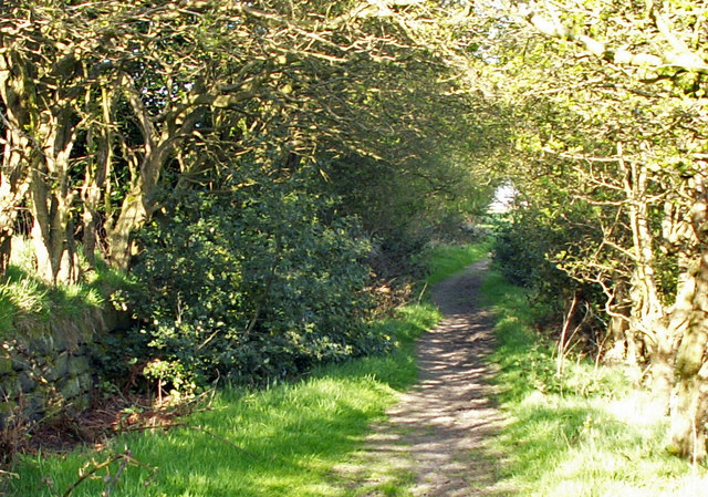 Footpath below Lower Rawtonstall