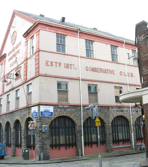 The Working-Men's Conservative Social Club, Market Street