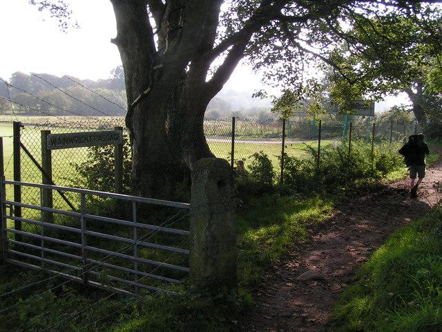 Coast-to-Coast Path, near Cleator