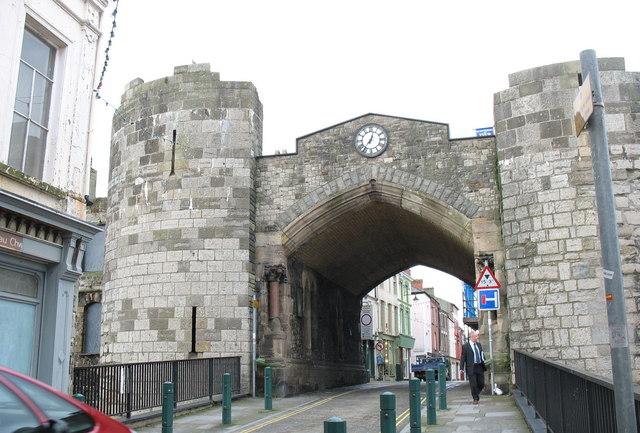Porth Mawr or East Gate