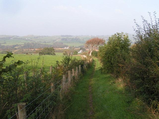Coast-to-Coast path near Swinside