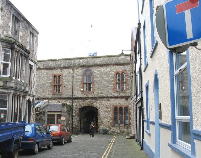 Porth yr Aur or West Gate