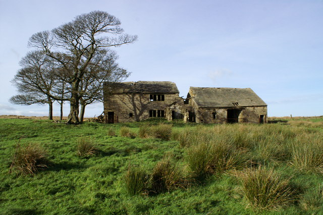 Rimington Moor Firber House Ruin