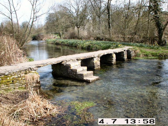 Keble's Clapper Bridge
