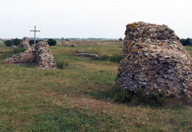 Remains of church, Abbey of St Benet at Holm