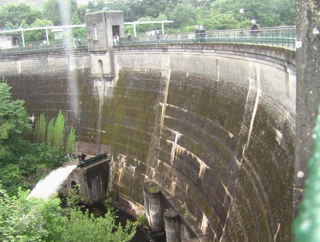 Tongland Dam HEP station