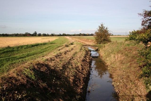 Ox Pasture drain looking north