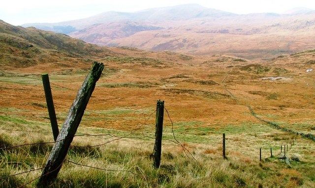 Ruined Fence, Near the Nick of Curleywee
