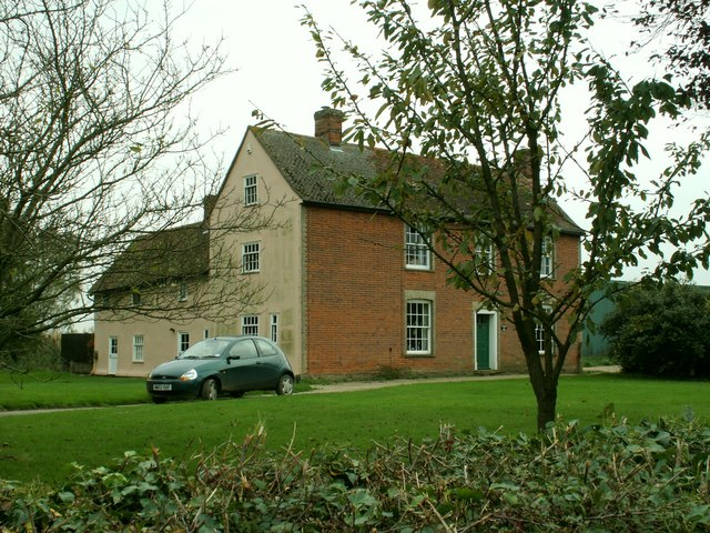 Farmhouse at Great Tagley Farm, close to Stambourne