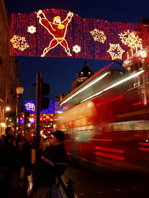 Regent Street Christmas lights 2004