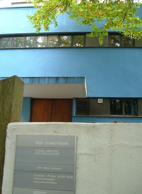 High Cross House, Dartington