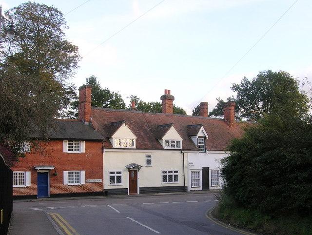 Junction of Bentfield Road and Bentfield  Causeway
