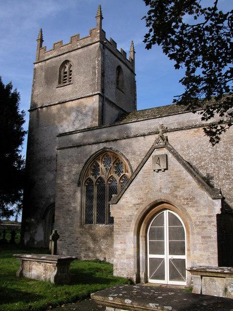 Beverston church