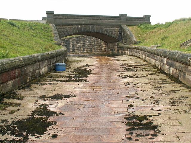 Spillway below Gorple Lower Reservoir