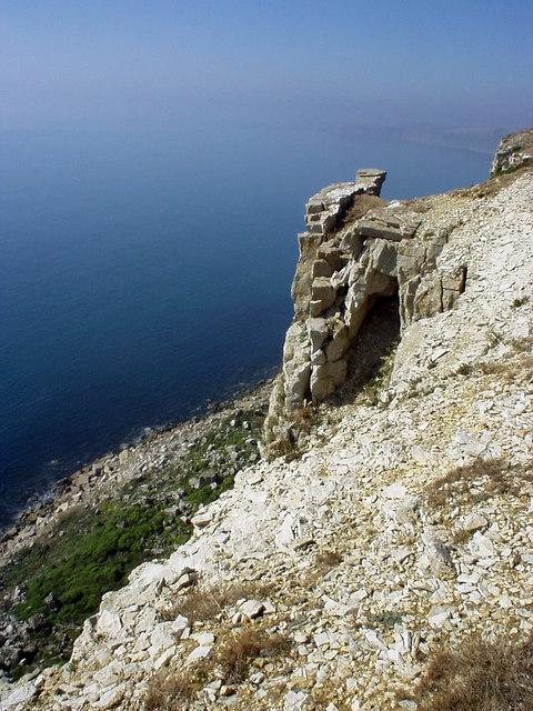 Cliffs at St Aldhelm's Head