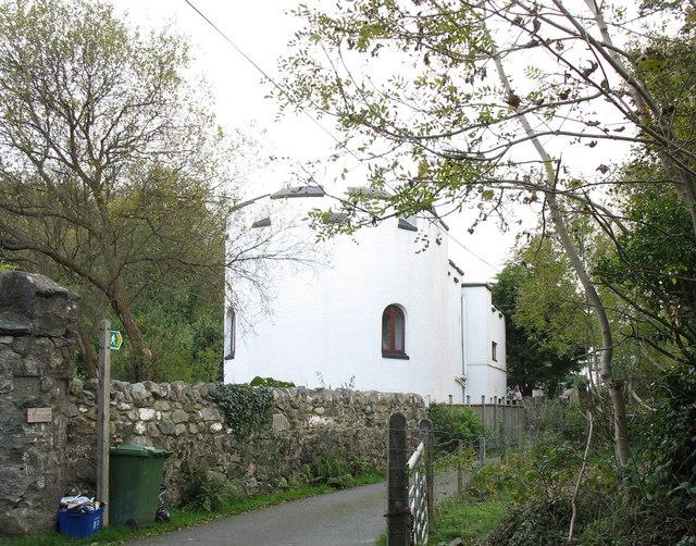 Lower Lodge of Bryn Bras Castle